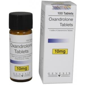 Oxandrolone Tablets Genesis 100 tabs [10mg/tab]