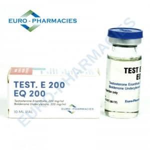 Test. E 200 / Eq 200 Euro-Pharmacies 10ml vial [400mg/1ml]
