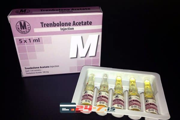 Trenbolone Acetate March 5 amps [5x100mg/1ml]