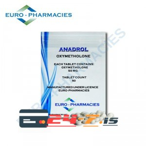 Anadrol Euro-Pharmacies 50 tabs [50mg/tab]