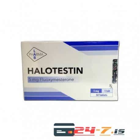 halotestin pharma lab