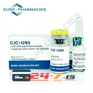 CJC-1295 Euro-Pharmacies 1 vial + 1 amp solvent [2mg]