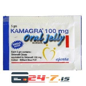 Kamagra Oral Jelly Ajanta 1 sachet [100mg/sachet]