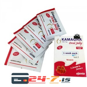 Kamagra Oral Jelly Women Ajanta 1 sachet [100mg/sachet]