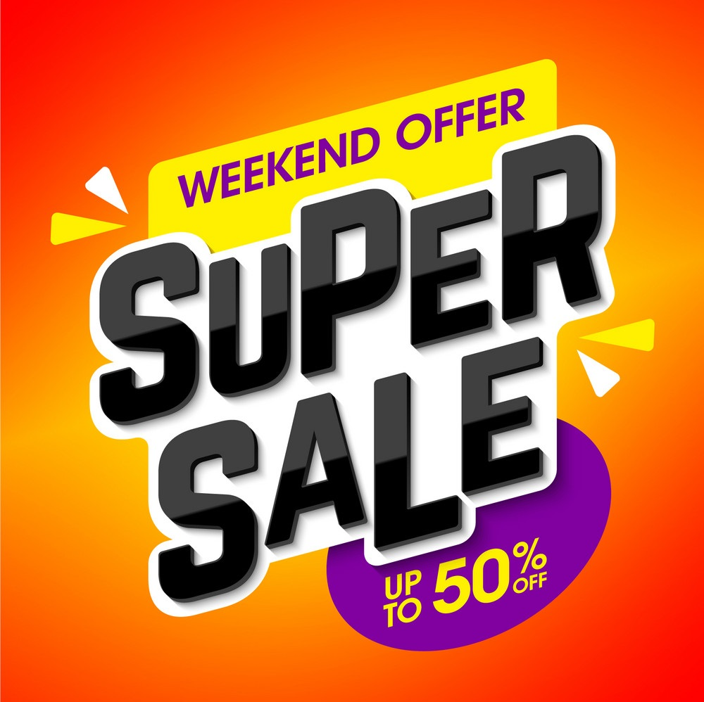 WEEKEND OFFERS SHIPPED FROM USA