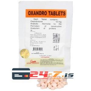Oxandro Tablets British Dispensary 100 tabs [10mg/tab]