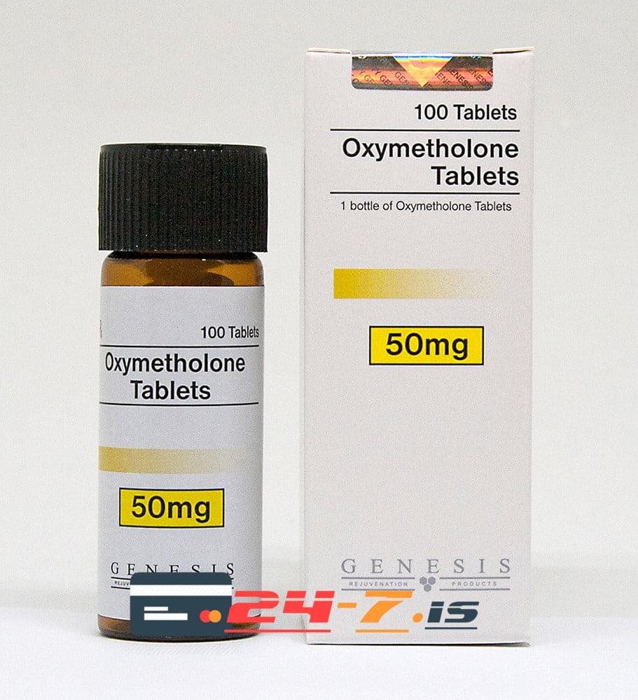 Oxymetholone Tablets Genesis 100 tabs [50mg/tab]