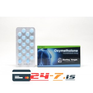 Oxymetholone Sterling Knight 60 tabs [50mg/tab]