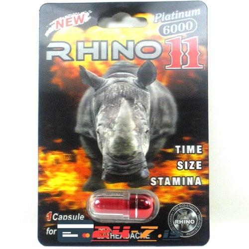 Rhino 11 Rhino Group 1 cap [3500mg/cap]
