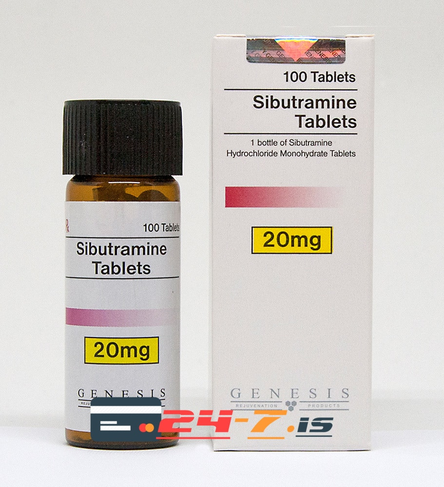 Sibutramine Tablets Genesis 100 tabs [20mg/tab]