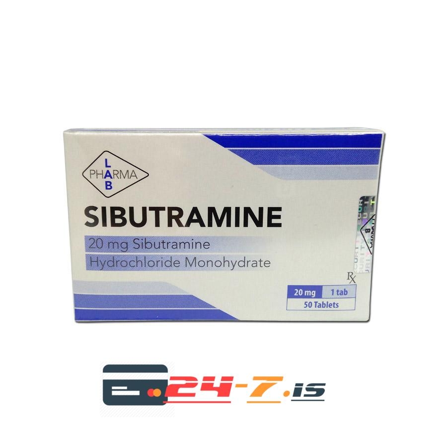 Sibutramine Pharma Lab 50 tabs [20mg/tab]