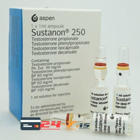 Sustanon 250 Pakistan Aspen 3 amps [3x250mg/1ml]