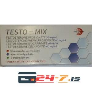 Testo-Mix PharmARC 6 amps [6x250mg/1ml]