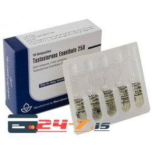 Testosterone Enanthate 250 Aburaihan 1ml amp [250mg/1ml]
