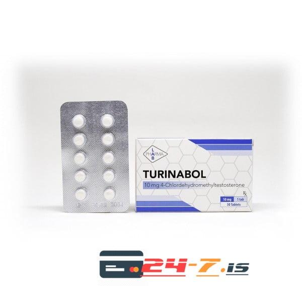 Turinabol Pharma Lab 50 tabs [10mg/tab]