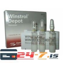 Winstrol Depot Desma 3 amps [3x50mg/1ml]