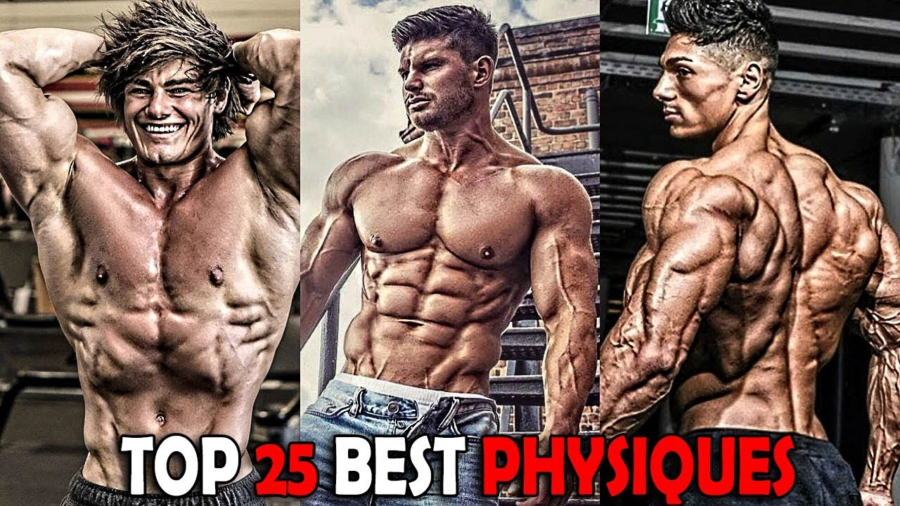 Top 25 Best Aesthetic Physiques in the World 2017 | Bodybuilding Motivation